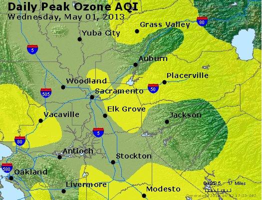 Peak Ozone (8-hour) - http://files.airnowtech.org/airnow/2013/20130501/peak_o3_sacramento_ca.jpg