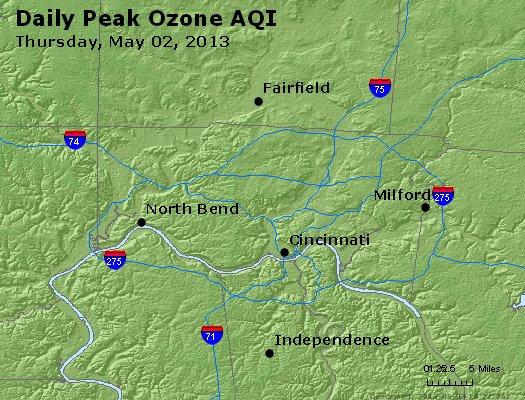 Peak Ozone (8-hour) - http://files.airnowtech.org/airnow/2013/20130502/peak_o3_cincinnati_oh.jpg