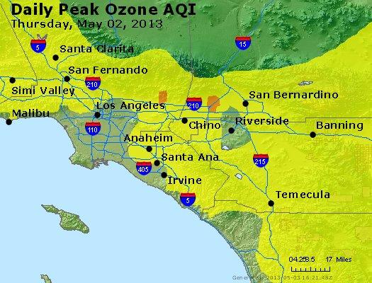 Peak Ozone (8-hour) - http://files.airnowtech.org/airnow/2013/20130502/peak_o3_losangeles_ca.jpg