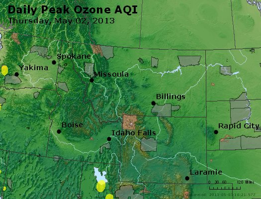 Peak Ozone (8-hour) - http://files.airnowtech.org/airnow/2013/20130502/peak_o3_mt_id_wy.jpg