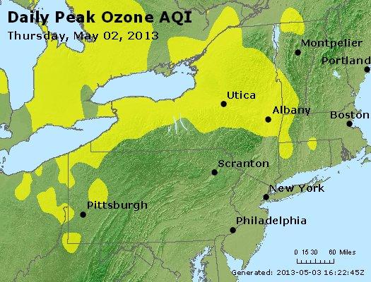 Peak Ozone (8-hour) - http://files.airnowtech.org/airnow/2013/20130502/peak_o3_ny_pa_nj.jpg