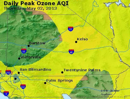 Peak Ozone (8-hour) - http://files.airnowtech.org/airnow/2013/20130502/peak_o3_sanbernardino_ca.jpg