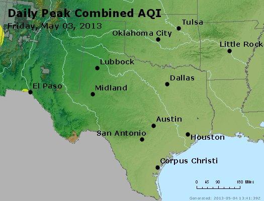 Peak AQI - http://files.airnowtech.org/airnow/2013/20130503/peak_aqi_tx_ok.jpg