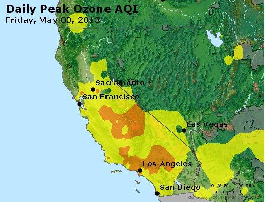 Peak Ozone (8-hour) - http://files.airnowtech.org/airnow/2013/20130503/peak_o3_ca_nv.jpg