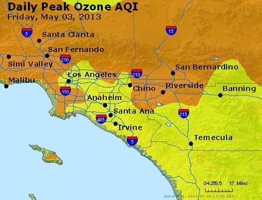 Peak Ozone (8-hour) - http://files.airnowtech.org/airnow/2013/20130503/peak_o3_losangeles_ca.jpg
