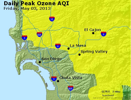 Peak Ozone (8-hour) - http://files.airnowtech.org/airnow/2013/20130503/peak_o3_sandiego_ca.jpg