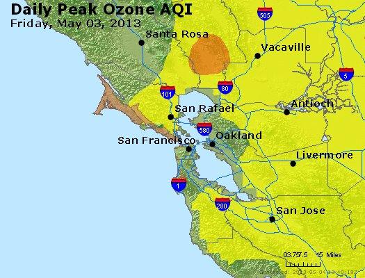 Peak Ozone (8-hour) - http://files.airnowtech.org/airnow/2013/20130503/peak_o3_sanfrancisco_ca.jpg