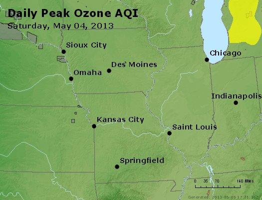 Peak Ozone (8-hour) - http://files.airnowtech.org/airnow/2013/20130504/peak_o3_ia_il_mo.jpg