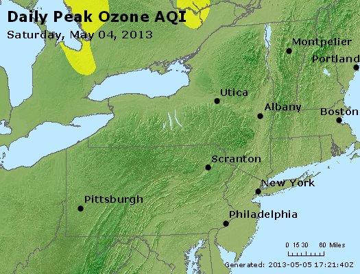 Peak Ozone (8-hour) - http://files.airnowtech.org/airnow/2013/20130504/peak_o3_ny_pa_nj.jpg