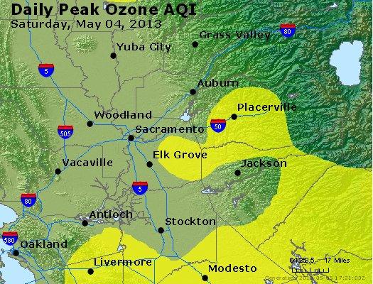 Peak Ozone (8-hour) - http://files.airnowtech.org/airnow/2013/20130504/peak_o3_sacramento_ca.jpg