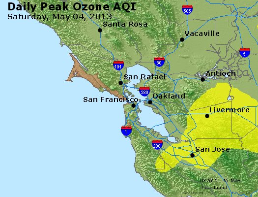 Peak Ozone (8-hour) - http://files.airnowtech.org/airnow/2013/20130504/peak_o3_sanfrancisco_ca.jpg