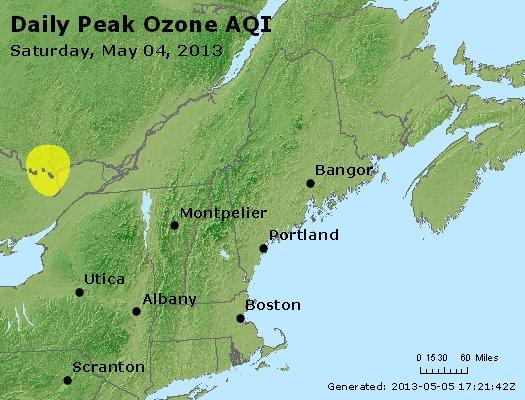 Peak Ozone (8-hour) - http://files.airnowtech.org/airnow/2013/20130504/peak_o3_vt_nh_ma_ct_ri_me.jpg