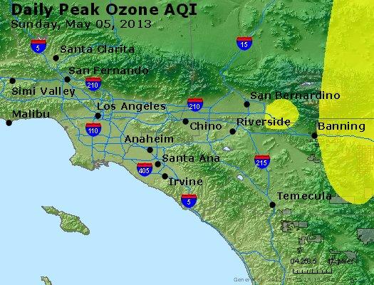 Peak Ozone (8-hour) - http://files.airnowtech.org/airnow/2013/20130505/peak_o3_losangeles_ca.jpg