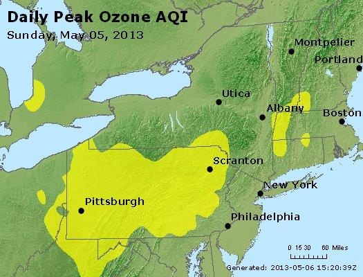 Peak Ozone (8-hour) - http://files.airnowtech.org/airnow/2013/20130505/peak_o3_ny_pa_nj.jpg