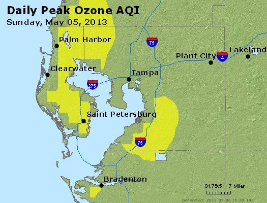 Peak Ozone (8-hour) - http://files.airnowtech.org/airnow/2013/20130505/peak_o3_tampa_fl.jpg