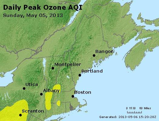 Peak Ozone (8-hour) - http://files.airnowtech.org/airnow/2013/20130505/peak_o3_vt_nh_ma_ct_ri_me.jpg