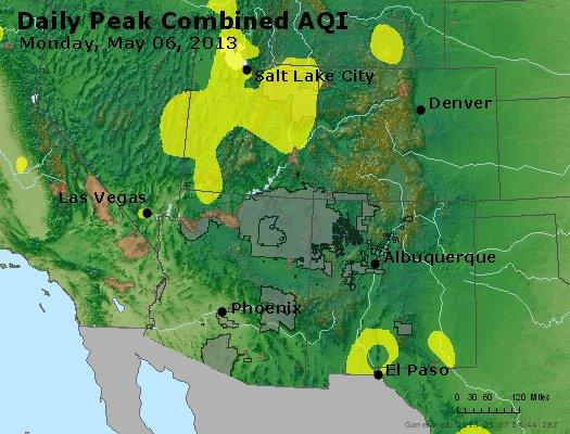 Peak AQI - http://files.airnowtech.org/airnow/2013/20130506/peak_aqi_co_ut_az_nm.jpg