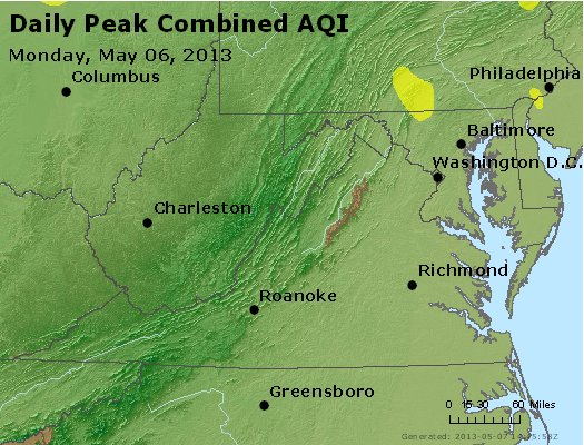 Peak AQI - http://files.airnowtech.org/airnow/2013/20130506/peak_aqi_va_wv_md_de_dc.jpg