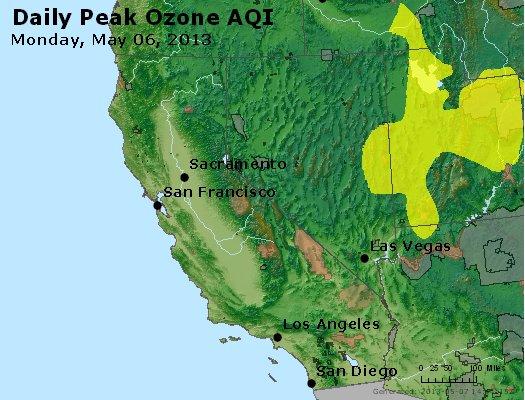 Peak Ozone (8-hour) - http://files.airnowtech.org/airnow/2013/20130506/peak_o3_ca_nv.jpg