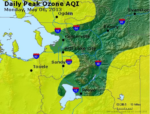 Peak Ozone (8-hour) - http://files.airnowtech.org/airnow/2013/20130506/peak_o3_saltlakecity_ut.jpg