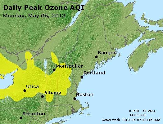 Peak Ozone (8-hour) - http://files.airnowtech.org/airnow/2013/20130506/peak_o3_vt_nh_ma_ct_ri_me.jpg