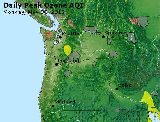 Peak Ozone (8-hour) - http://files.airnowtech.org/airnow/2013/20130506/peak_o3_wa_or.jpg