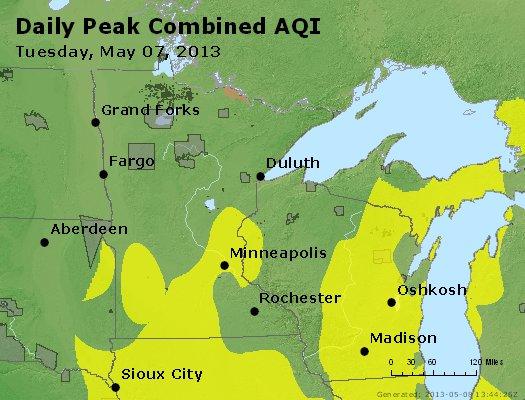 Peak AQI - http://files.airnowtech.org/airnow/2013/20130507/peak_aqi_mn_wi.jpg