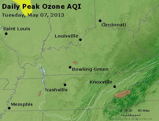 Peak Ozone (8-hour) - http://files.airnowtech.org/airnow/2013/20130507/peak_o3_ky_tn.jpg