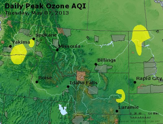 Peak Ozone (8-hour) - http://files.airnowtech.org/airnow/2013/20130507/peak_o3_mt_id_wy.jpg