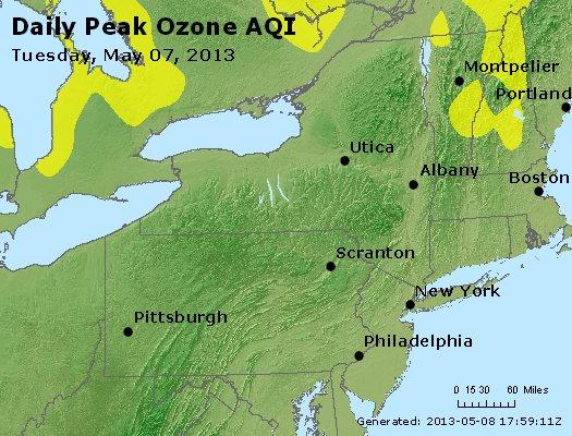 Peak Ozone (8-hour) - http://files.airnowtech.org/airnow/2013/20130507/peak_o3_ny_pa_nj.jpg