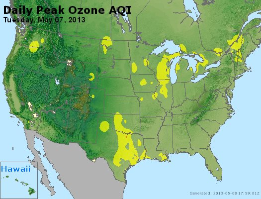 Peak Ozone (8-hour) - http://files.airnowtech.org/airnow/2013/20130507/peak_o3_usa.jpg