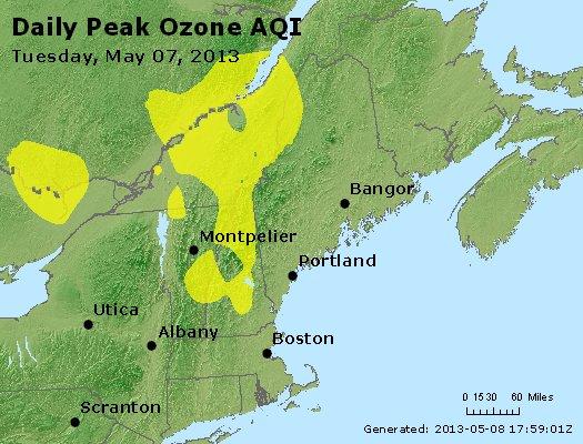 Peak Ozone (8-hour) - http://files.airnowtech.org/airnow/2013/20130507/peak_o3_vt_nh_ma_ct_ri_me.jpg