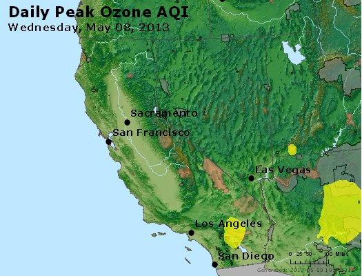 Peak Ozone (8-hour) - http://files.airnowtech.org/airnow/2013/20130508/peak_o3_ca_nv.jpg