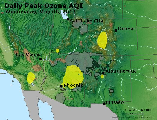 Peak Ozone (8-hour) - http://files.airnowtech.org/airnow/2013/20130508/peak_o3_co_ut_az_nm.jpg