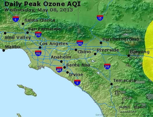 Peak Ozone (8-hour) - http://files.airnowtech.org/airnow/2013/20130508/peak_o3_losangeles_ca.jpg