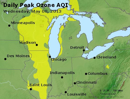 Peak Ozone (8-hour) - http://files.airnowtech.org/airnow/2013/20130508/peak_o3_mi_in_oh.jpg