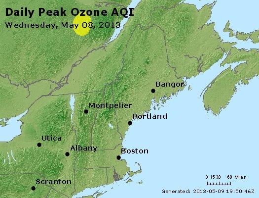 Peak Ozone (8-hour) - http://files.airnowtech.org/airnow/2013/20130508/peak_o3_vt_nh_ma_ct_ri_me.jpg