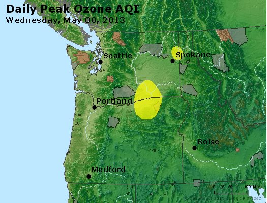Peak Ozone (8-hour) - http://files.airnowtech.org/airnow/2013/20130508/peak_o3_wa_or.jpg