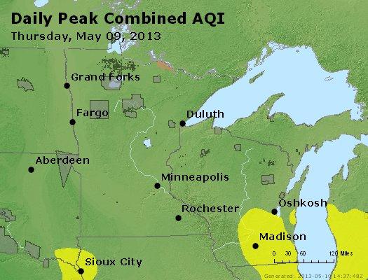 Peak AQI - http://files.airnowtech.org/airnow/2013/20130509/peak_aqi_mn_wi.jpg