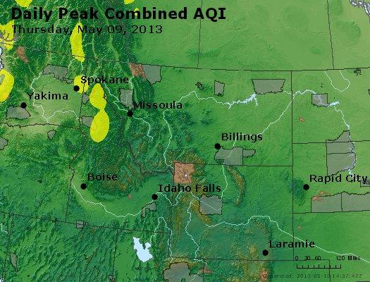 Peak AQI - http://files.airnowtech.org/airnow/2013/20130509/peak_aqi_mt_id_wy.jpg