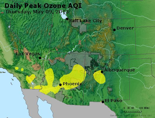 Peak Ozone (8-hour) - http://files.airnowtech.org/airnow/2013/20130509/peak_o3_co_ut_az_nm.jpg