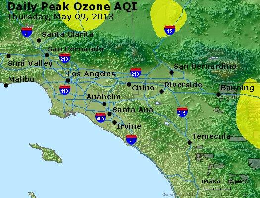 Peak Ozone (8-hour) - http://files.airnowtech.org/airnow/2013/20130509/peak_o3_losangeles_ca.jpg