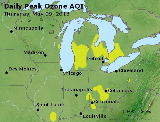 Peak Ozone (8-hour) - http://files.airnowtech.org/airnow/2013/20130509/peak_o3_mi_in_oh.jpg