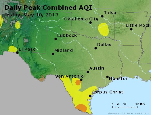 Peak AQI - http://files.airnowtech.org/airnow/2013/20130510/peak_aqi_tx_ok.jpg