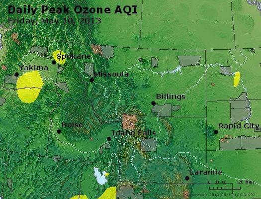 Peak Ozone (8-hour) - http://files.airnowtech.org/airnow/2013/20130510/peak_o3_mt_id_wy.jpg