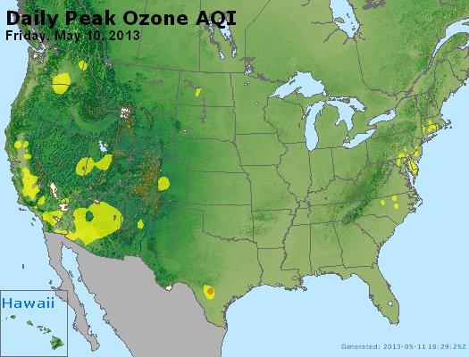 Peak Ozone (8-hour) - http://files.airnowtech.org/airnow/2013/20130510/peak_o3_usa.jpg