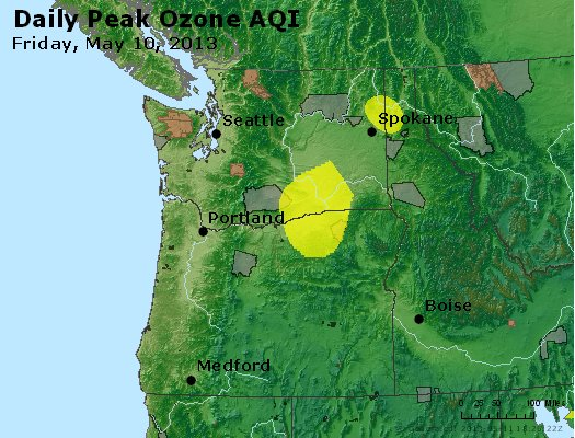 Peak Ozone (8-hour) - http://files.airnowtech.org/airnow/2013/20130510/peak_o3_wa_or.jpg