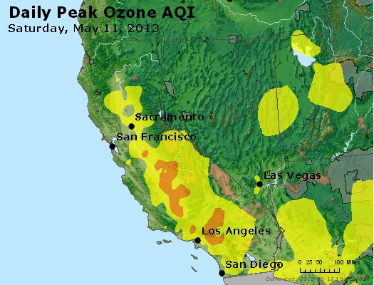 Peak Ozone (8-hour) - http://files.airnowtech.org/airnow/2013/20130511/peak_o3_ca_nv.jpg