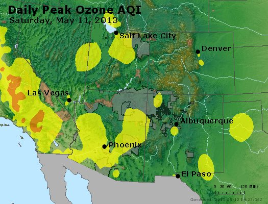 Peak Ozone (8-hour) - http://files.airnowtech.org/airnow/2013/20130511/peak_o3_co_ut_az_nm.jpg