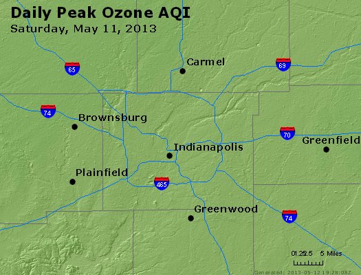 Peak Ozone (8-hour) - http://files.airnowtech.org/airnow/2013/20130511/peak_o3_indianapolis_in.jpg